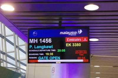 マレーシア航空(MH1456)クアラルンプールランカウイIMGP5891