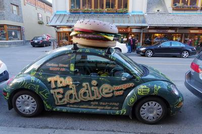 バンフ旅行記 eddie burger エディバーガーIMGP1800