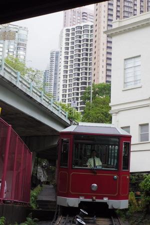 香港 ビクトリアピーク ピークトラムIMGP5361