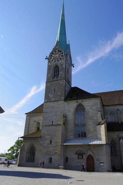 スイス旅行記 チューリッヒ 観光IMGP3889