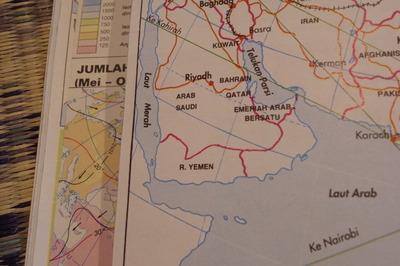 マレーシアマレー語世界地図帳集めるマニアコレクターIMGP6819