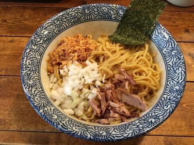 旅人の木 荻窪 汁無し麺IMG_0795