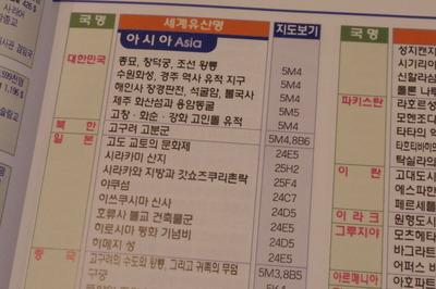 韓国ハングル語世界地図帳集めるマニアコレクターIMGP6975