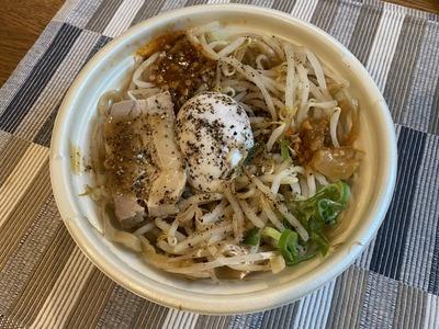 セブンイレブン中華蕎麦とみ田監修豚まぜそばIMG_6730