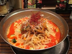 光麺 新宿 冷やし坦々麺IMG_0836[1]