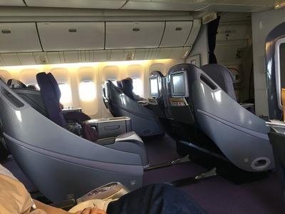 タイ国際航空ビジネスクラスロイヤルシルククラス機内食IMG_0983