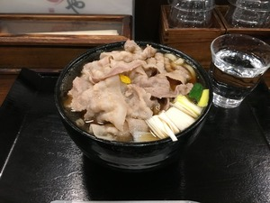 豚や 西荻窪 豚肉うどんIMG_0187[1]