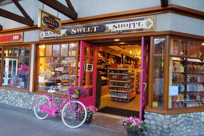 バンフ旅行記 BANFF SWEET SHOPPE IMGP1687