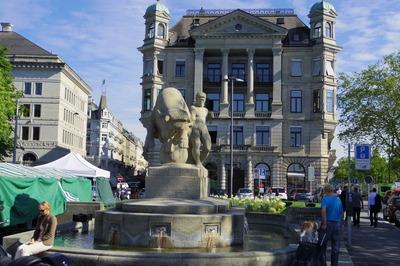 スイス旅行記 チューリッヒ チューリッヒ 観光IMGP3857