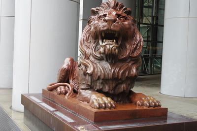 香港 ライオン 銀行 パワースポットIMGP5370
