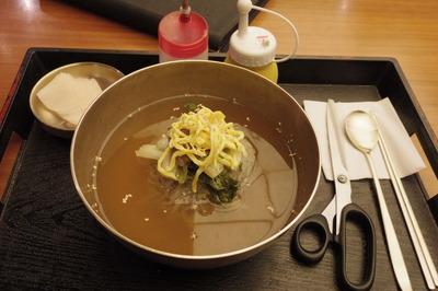 ソウル駅 冷麺IMGP4887