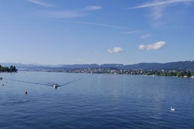 スイス旅行記 チューリッヒ湖 ケー橋 観光IMGP3855