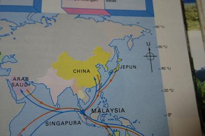 マレーシア世界地図IMGP2701