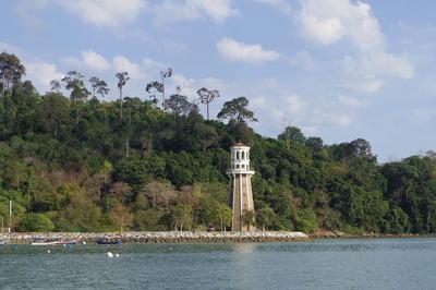 ランカウイテラガハーバーPerdana Quay Light House(灯台)IMGP6100