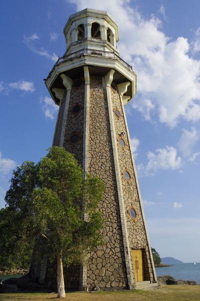 ランカウイテラガハーバーPerdana Quay Light House(灯台)IMGP6105