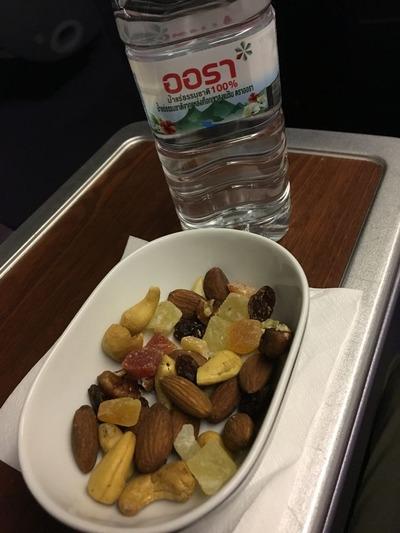タイ国際航空ビジネスクラスロイヤルシルククラス機内食IMG_0974