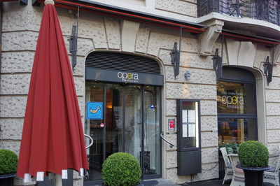 チューリッヒ アンバサダーホテル レストランオペラIMGP3814