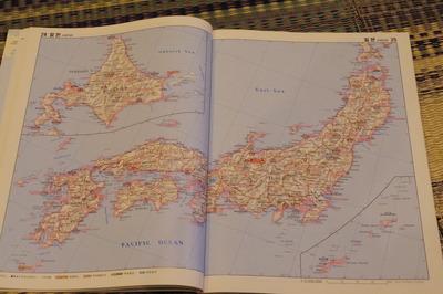 韓国ハングル語世界地図帳集めるマニアコレクターIMGP6981