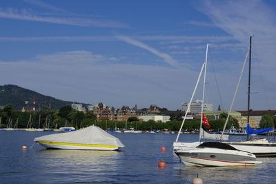 スイス旅行記 チューリッヒ湖 観光IMGP3837