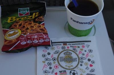 スイス旅行記 ルフトハンザ航空 機内食IMGP3973