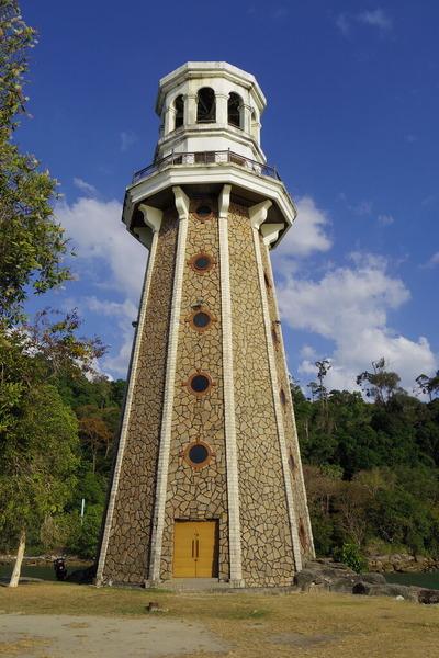 ランカウイテラガハーバーPerdana Quay Light House(灯台)IMGP6108