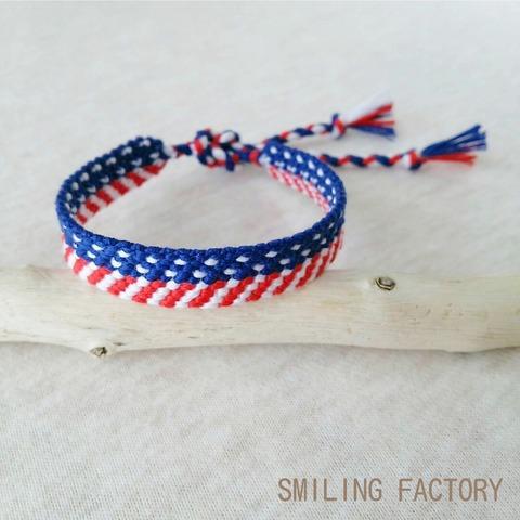 星条旗ミサンガ/アメリカ国旗模様