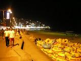 海雲台ビーチの夜