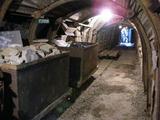 新平溪煤礦の坑道の様子