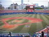 試合開始30分前の横浜スタジアム