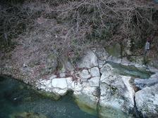 河原薬研の湯(栃木県日光市湯西川)