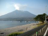大隈半島側から見た桜島