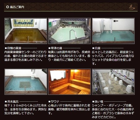 内房薬湯健康センター(千葉県市原市八幡)