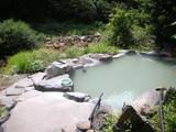 五色の湯旅館露天風呂