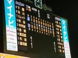 東京ヤクルト×横浜(神宮球場)