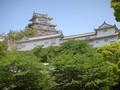 姫路城を違う角度から