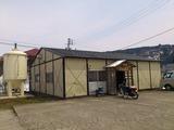 百合居温泉仮設共同浴場(長野県栄村堺百合居)