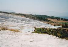 パムッカレ温泉(トルコ)