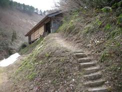 鮭立磨崖仏(福島県大沼郡金山町)