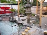 七沢荘の露天風呂
