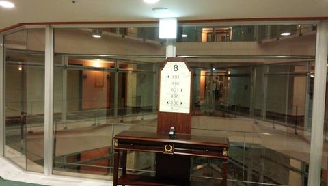 【沖縄】オキナワマリオットリゾート&スパ 廊下