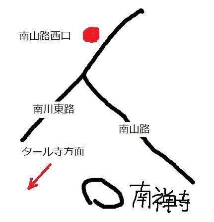タール寺地図