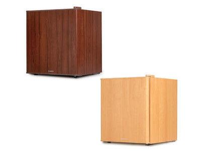 木目調の1ドア冷蔵庫