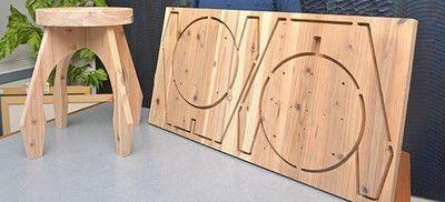 組み立て式の木製家具