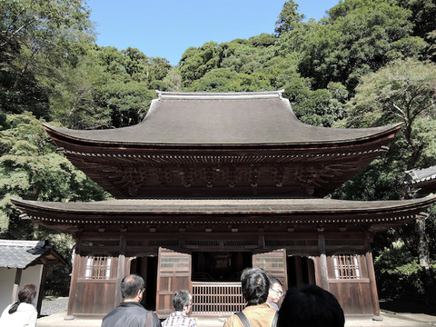 円覚寺舎利殿1