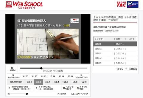 二級建築士設計製図_作図実況中継