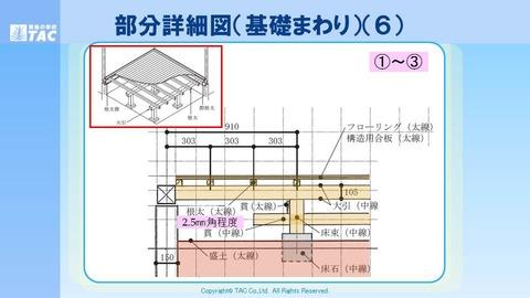 2019_2級設計早期②_1_断面,立面,部分詳細図の作図手順01