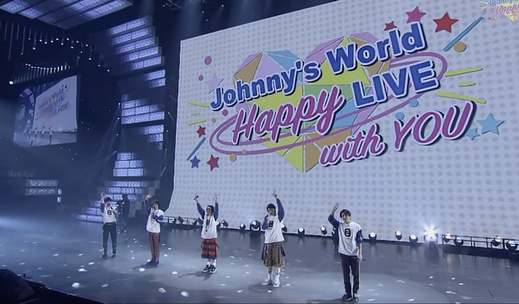 Johnny's World Happy LIVE with YOU」 : まけたらアカン(^ヘ^)