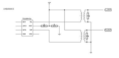TDA1545A ファインメットトランスIV