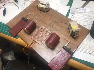 GS-1低域補正回路のコンデンサー