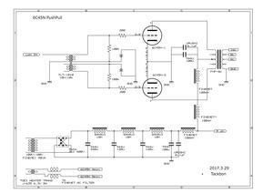 6C45Π PP 電源調整 その2